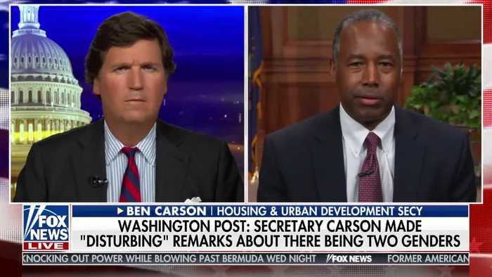 Dr. Ben Carson responds to leftist attacks of transphobia