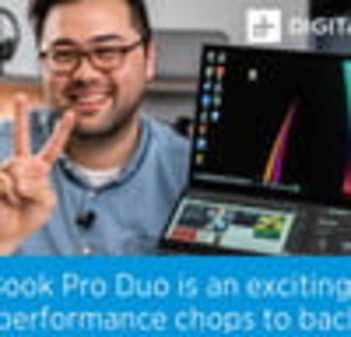 Asus Zenbook Pro Duo Review   The Ultimate Dual-Screen Laptop