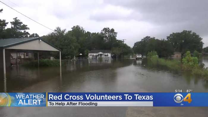 Colorado Red Cross Volunteers Help Flood Victims In Texas