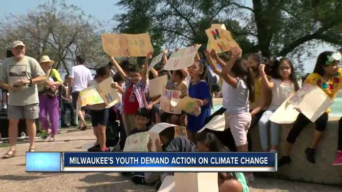 Milwaukee's youth demand action on climate change