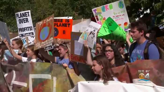 Students Join Climate Strikes Across South Florida