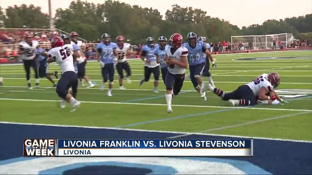 Livonia Franklin beats Livonia Stevenson WXYZ Game of the Week