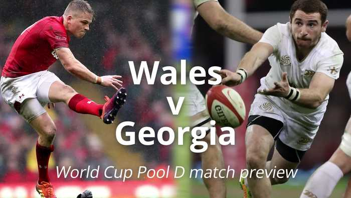 Wales v Georgia: Rugby World Cup match preview