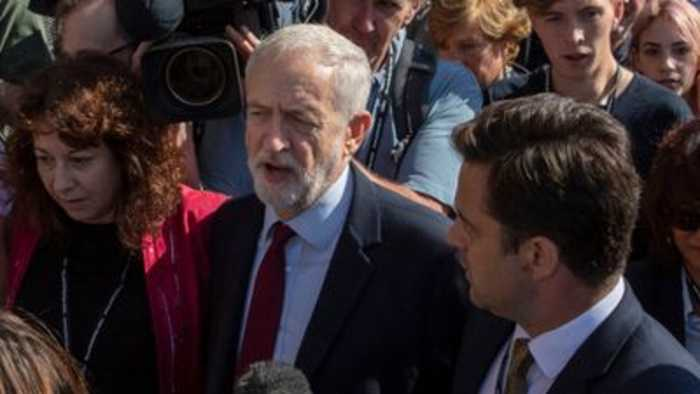 Corbyn; 'I'm very glad we are moving forward'