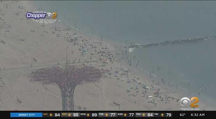 NYC Beaches Expected To Be Packed For Final Weekend Of Summer