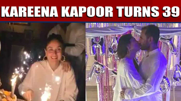 Kareena kapoor turns 39, sister Karishma shares glimpses from kareena's birthday |OneIndia News