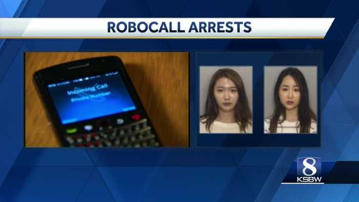 Two Californian women arrested for IRS Robocall scam