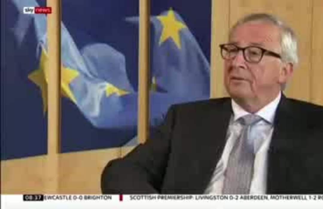 EU's Juncker says he's convinced Brexit will happen