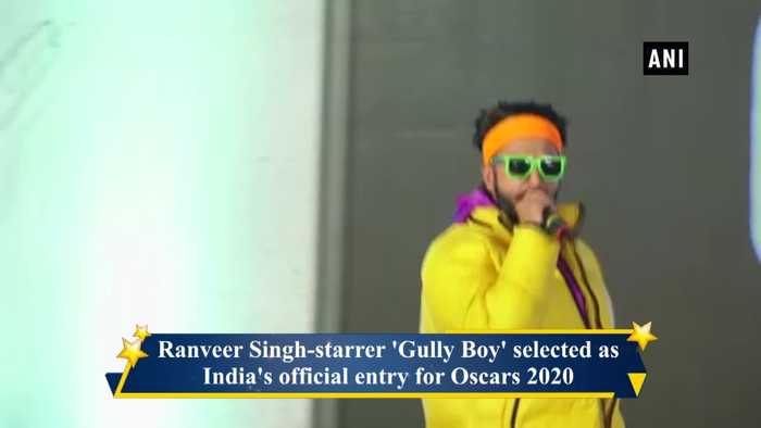 Gully Boy beomes India's official entry for Oscars 2020