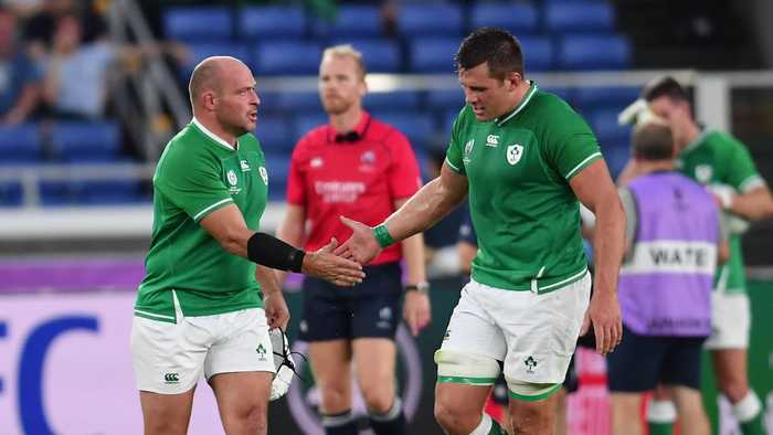 Ireland win Rugby World Cup opener against Scotland