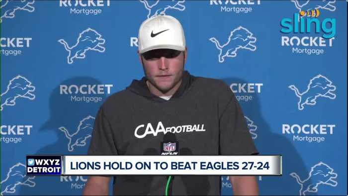 Lions beat Eagles 27-24