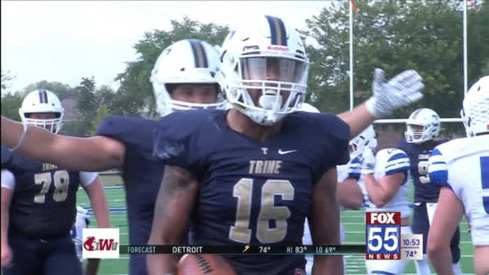 Trine Tops Concordia Wisconsin in Home Opener