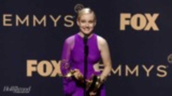 Julia Garner Talks Acting Win for 'Ozark'   Emmys 2019