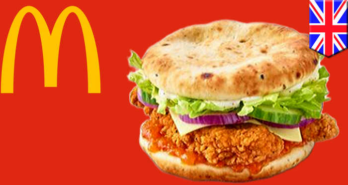 McDonald's launches naan bun chicken sandwich