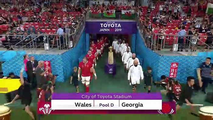 Highlights : Wales vs Georgia