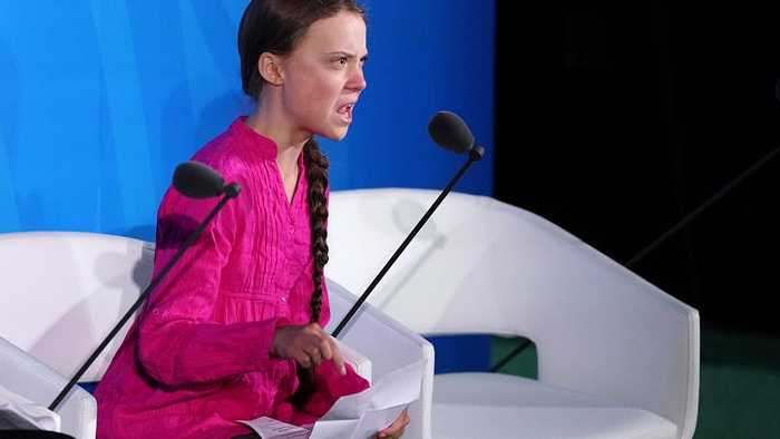 Greta Thunberg tells world leaders 'how dare you' on climate inaction