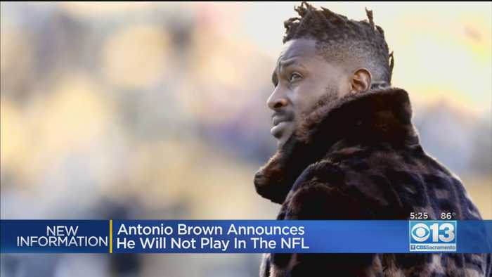 Anotnio Brown Announces He Will No Longer Play In NFL