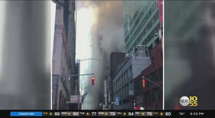 Times Square Hotel Evacuated