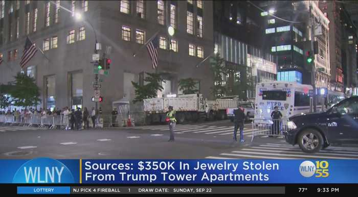 NYPD Probing Jewelry Thefts At Trump Tower