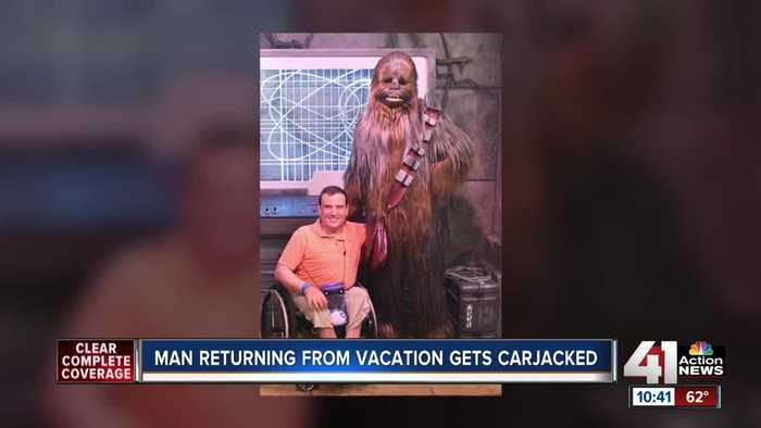 Man returning from vacation gets carjacked