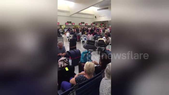 UK tourists left stranded at Menorca Airport as Thomas Cook collapses