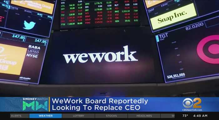 WeWork Reportedly Looking To Replace CEO