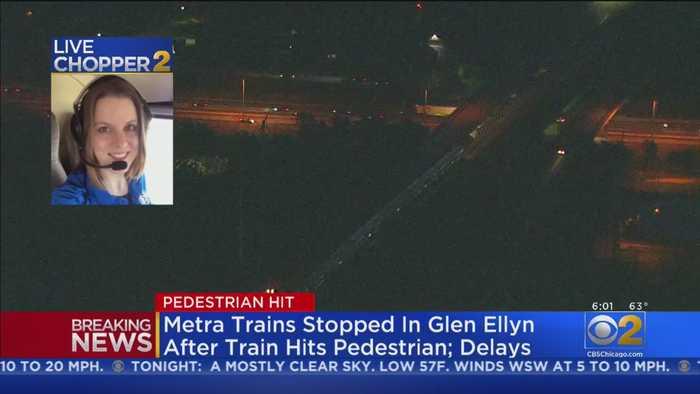 Person Struck By Metra Train Near Glen Ellyn