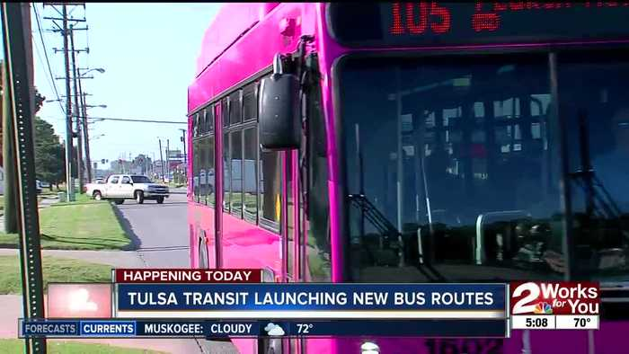 New bus routes roll out in Tulsa; free fares from Sept. 23-29