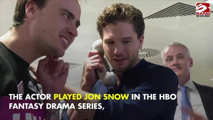 Kit Harington hasn't seen the last series of Game of Thrones