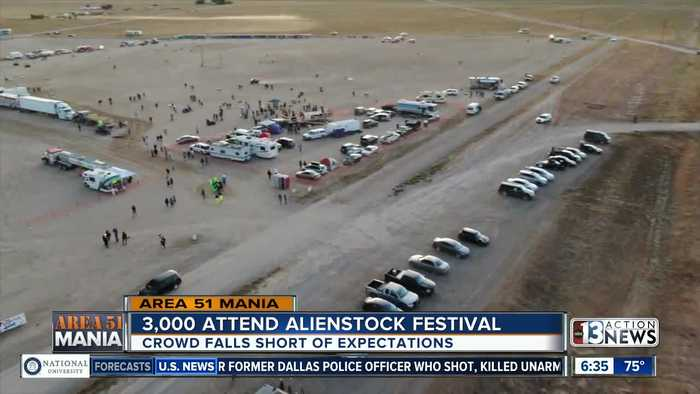 Low attendance costs Area 51 festivals