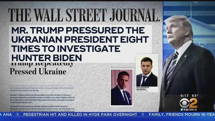 President Trump Readies For UN Summit In New York