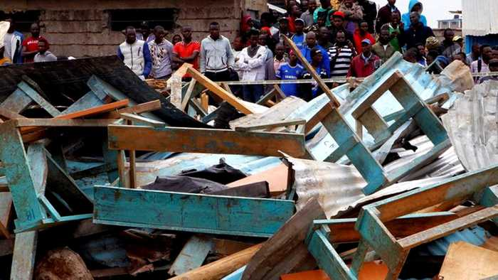 Students killed in Kenya school building collapse