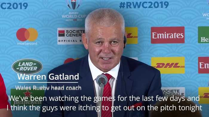 Warren Gatland: Wales were itching to go before victory over Georgia