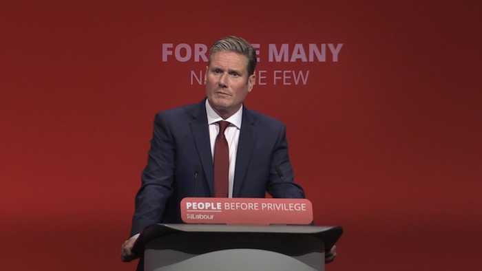 Starmer promises second Brexit referendum if Labour wins election