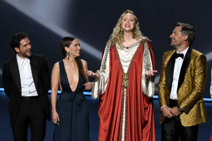 Gwendoline Christie emotional over Emmy nomination