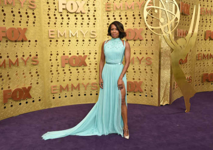 Regina King's Emmy gown took 200 hours to finish