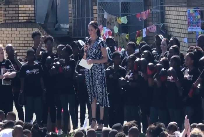 Meghan Markle's Cape Town Speech