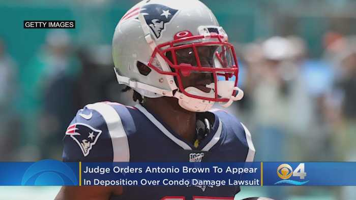 Antonio Brown Ordered To Appear In Miami Deposition Over Condo Damage Lawsuit