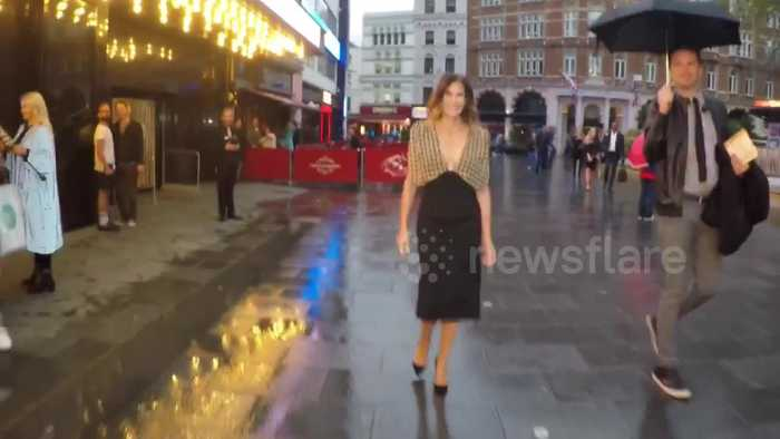 Desperate Housewives star Teri Hatcher visits London's West End