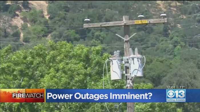Sierra Foothills Communities Brace For Public Safety Power Shutoff Event