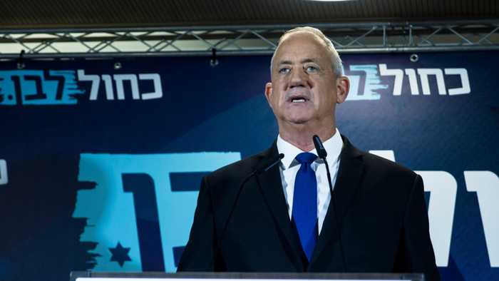 Prime Minister Benjamin Netanyahu Negotiates With Challenger For Israeli Unity Government
