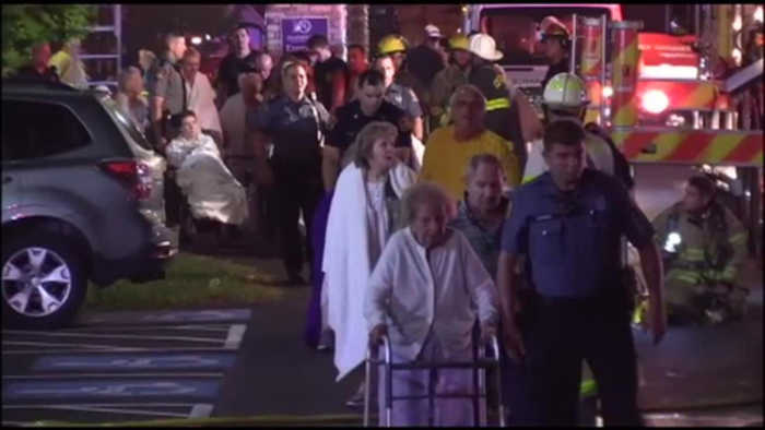 82 residents displaced from senior living facility after Sunday morning fire