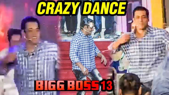 Bigg Boss 13 | Salman Khan ENERGETIC DANCE On Jumme Ki Raat Hai Song | Show Launch
