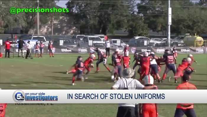 East Cleveland youth football team has all of its uniforms stolen in vehicle theft