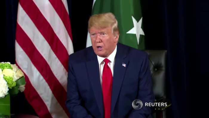 Trump praises UK Johnson's new Iran proposal
