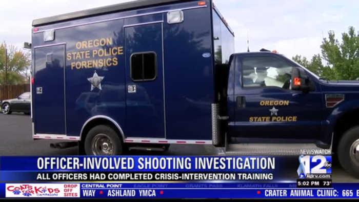 Officer Involved shooting Medford