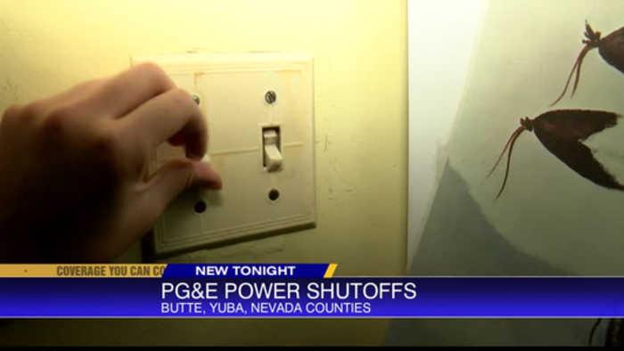 PG&E power safety shut-offs