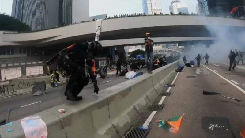 Hong Kong protests expected to go ahead on China anniversary despite ban