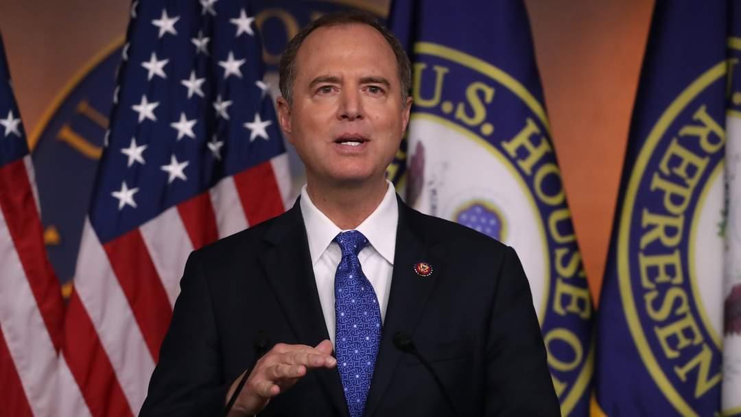 President Trump Accuses Rep. Adam Schiff Of Treason