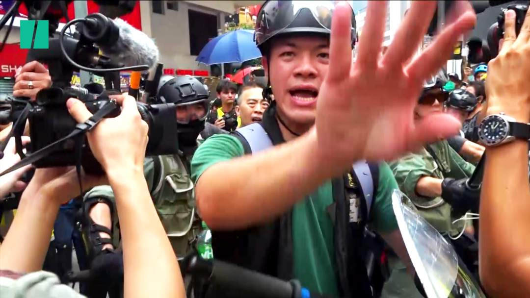 Violence Grips Hong Kong's Pro-Democracy Protests Ahead Of National Day